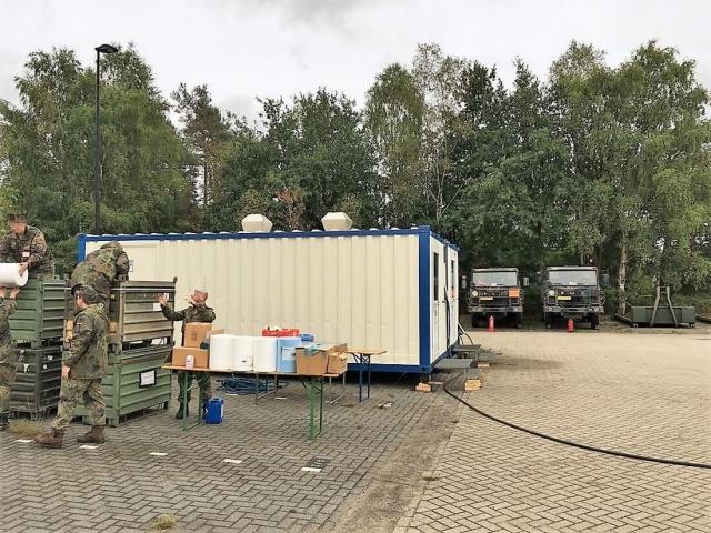 Oranje Kazerne in Arnhem (NL)