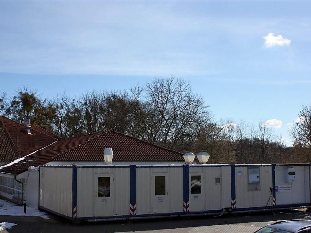 Mobile Küche beim Senioren Wohnpark in Coswig (DE)