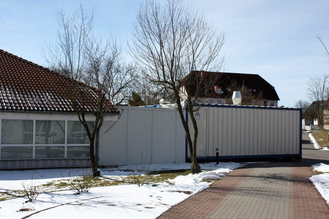 Verbindungsgang Senioren Wohnpark in Coswig (DE)
