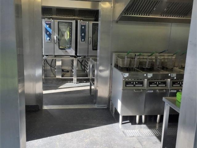 Küche bei Toyota Parts Center Europe (BE)