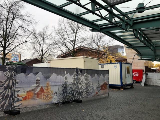 Weihnachtsmarkt in Oberhausen beim Centro (DE)
