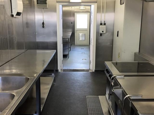 Mobile Küche beim Pflegeheim Im St. Elisabethens in Grossheubach (DE)