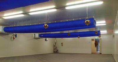 Klimatisierter Wagenbahnhof