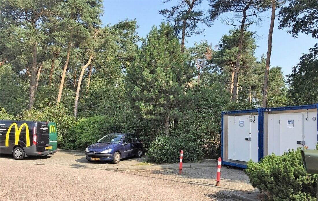 Kühl- und Tiefkühl Units beim Mc Donalds in Venray (NL)