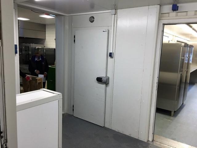 Kühlzelle beim Le Méridien Hotel in München (DE)