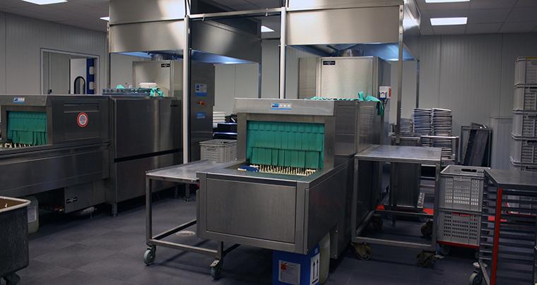 ein modulbau spülküche nach wünsch und energie effizient.