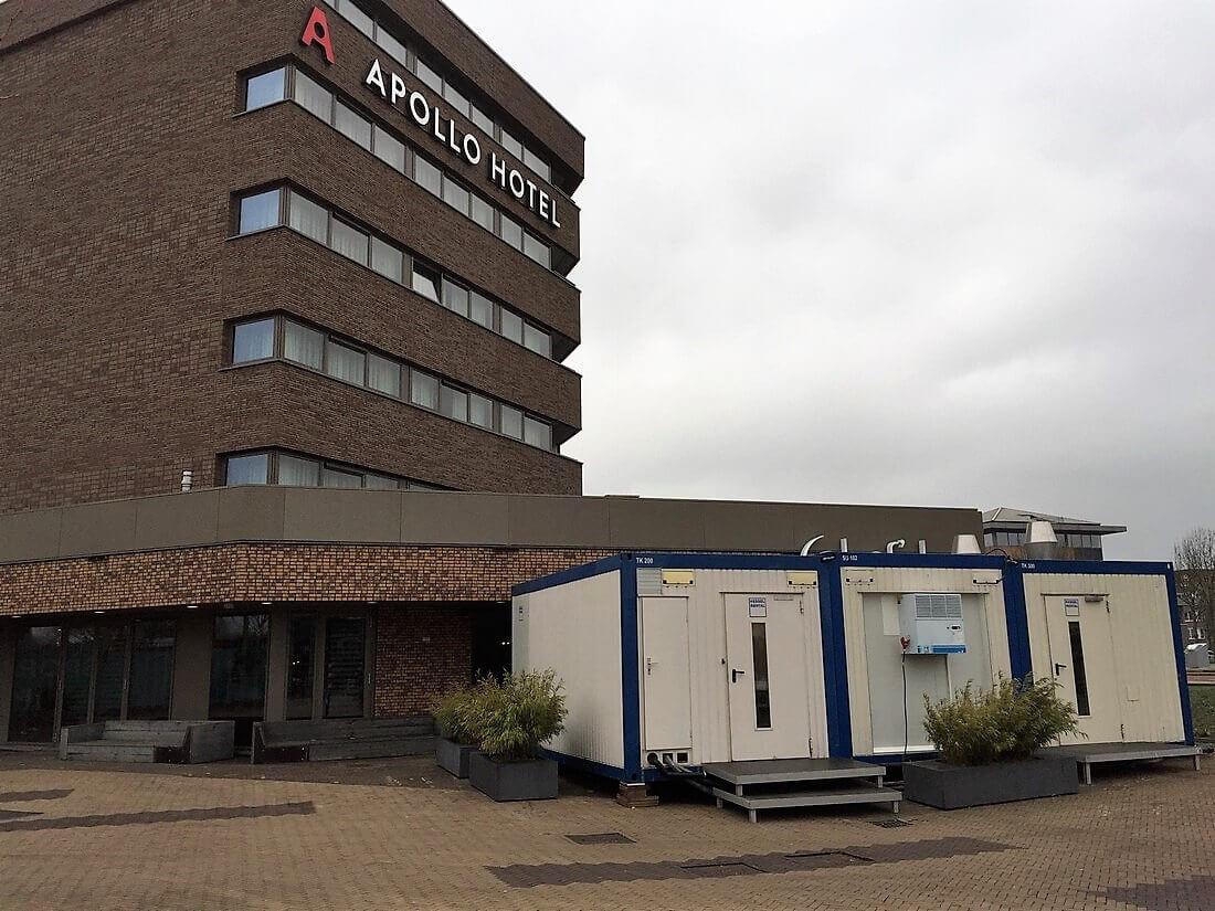 Interimsküche beim Apollo Hotel in Papendrecht (NL)