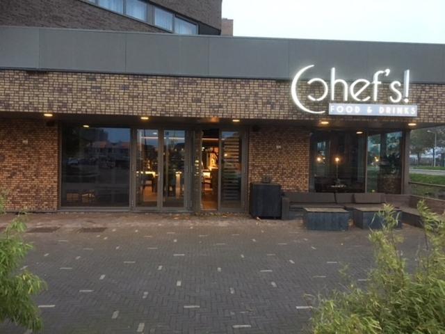 Der Standort der Interimsküche beim Apollo Hotel in Papendrecht (NL)