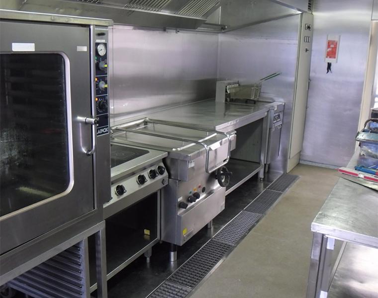 Mobile Kuchencontainer